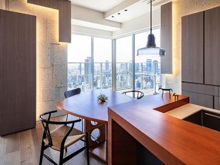 株式会社seki.design Salle à manger moderne