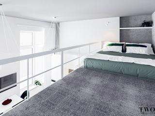 Klaudia Tworo Projektowanie Wnętrz Sp. z o.o. Small bedroom