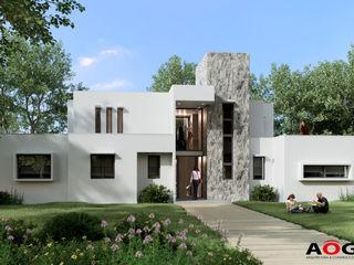 AOG Detached home Aluminium/Zinc White
