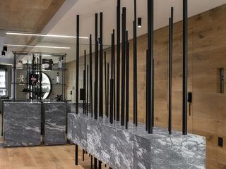 Sulkin Askenazi Modern Corridor, Hallway and Staircase