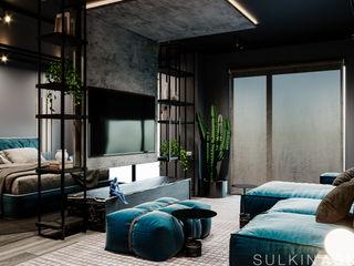 Sulkin Askenazi Modern Living Room
