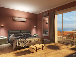 THE STEPS OF AN ONLINE CONSULTATION ARTE DELL'ABITARE BedroomBeds & headboards Wood Pink
