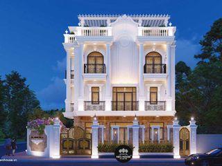 Mẫu thiết kế nhà biệt thự tân cổ điển 3 tầng 2 mặt tiền tại Hà Nội NEOHouse