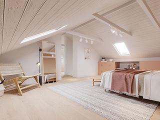 Rima Design Scandinavian style bedroom