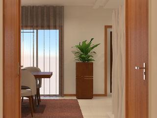 ByOriginal Pasillos, vestíbulos y escaleras modernos