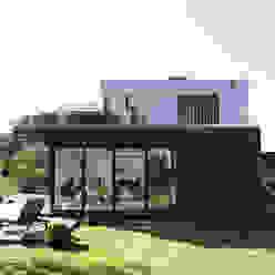Aussenansicht vom Garten Hellmers P2 | Architektur & Projekte Einfamilienhaus