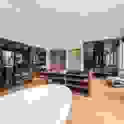 Clear Sliding Frameless Glass Doors Go Glass Ltd Minimalist dressing room