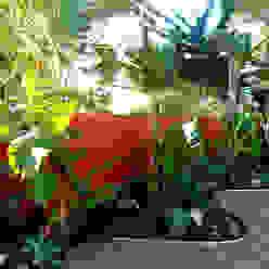Castelldefels-Aragó Simbiosi Estudi Jardines de estilo moderno