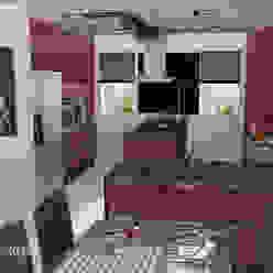 La cocina de Lino Diseñadora de Interiores, Decoradora y Home Stager Cocinas de estilo ecléctico