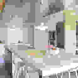 El continente y el contenido Coblonal Arquitectura Cocinas de estilo escandinavo