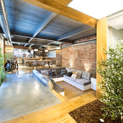 Rustic style living room by Egue y Seta Rustic