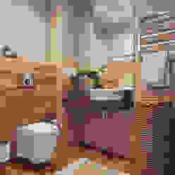 Minimal style Bathroom by Angelina Alekseeva Minimalist