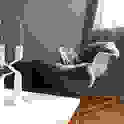 Münchner home staging Agentur GESCHKA WoonkamerKrukken, stoelen & zitkussens
