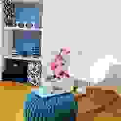 Gästezimmer - Leseecke Skandinavische Wohnzimmer von Münchner home staging Agentur GESCHKA Skandinavisch