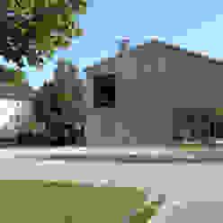 strassenfassade architekturbüro axel baudendistel Moderne Häuser