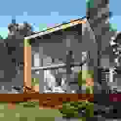 Chalets de estilo  por THULE Blockhaus GmbH - Ihr Fertigbausatz für ein Holzhaus,