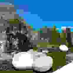 La Perla del Mediterráneo Spainville Inmobiliaria Jardines de estilo moderno
