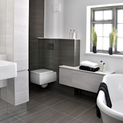 Modern En Suite Design:  Bathroom by Studio TO