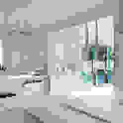 Interior design - Glass Cube Padova IMAGO DESIGN Balcone, Veranda & Terrazza in stile moderno