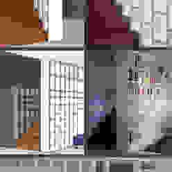 BUILT-IN BOOKSHELVES Elisa Occhielli Architetto Soggiorno