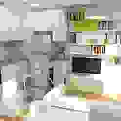 Design By Solène Utard CocinaMesadas de cocina