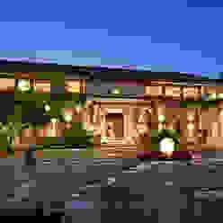 Fachada Casas rústicas de Artigas Arquitectos Rústico
