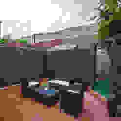 Garden - Canary Wharf Moderner Garten von Millennium Interior Designers Modern
