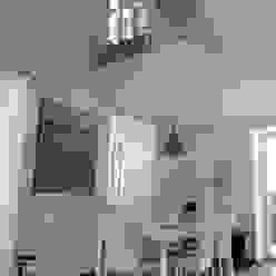 l'affaccio duplex sul pranzo luca pedrotti architetto Sala da pranzo moderna