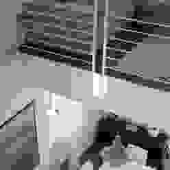 l'affaccio duplex luca pedrotti architetto Sala da pranzo moderna