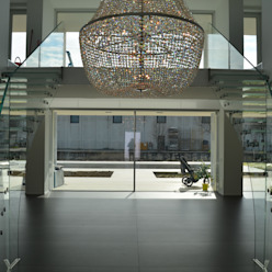 Glastreppen Siller Treppen/Stairs/Scale Flur, Diele & TreppenhausTreppen Glas Transparent