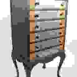 Upcycled Edwardian music cabinet von Narcissus Road Furniture Design Ausgefallen