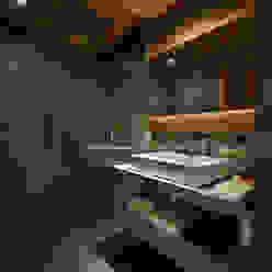 Chalet Gstaad Rustikale Badezimmer von Ardesia Design Rustikal