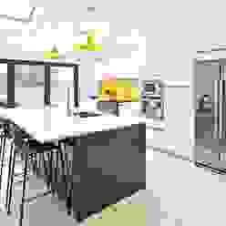Bright, clean, contemporary homify Cocinas de estilo moderno