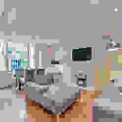 Living Room Moderne Wohnzimmer von homify Modern