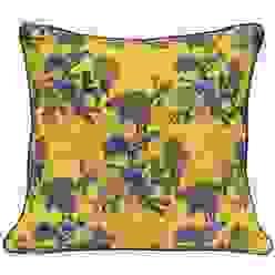 Golden Bunting Bird Cushion by Occipinti von Anthea's Home Store Klassisch