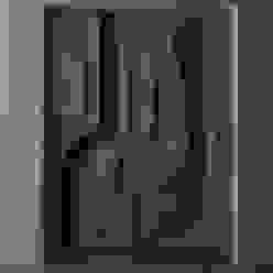 WALL RELIEF ON A.A.C BRICKS Drashtikon Designer Consultant (kamal maniya) Eclectic style walls & floors
