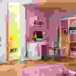 Kinderzimmer Minnie Mouse Moderne Kinderzimmer von Möbelgeschäft MEBLIK Modern