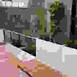 Roof terrace 1 Paul Newman Landscapes Balcones y terrazas