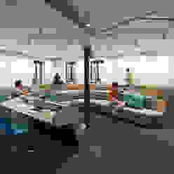 Soundcloud Office Berlin kinzo-berlin Ausgefallene Bürogebäude