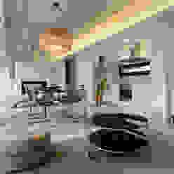 Minimalistische Esszimmer von Nan Arquitectos Minimalistisch