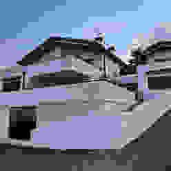 Residenza Privata Bifamiliare luca pedrotti architetto Case moderne