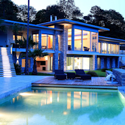 Aldo Rampazzi Studio di Architettura Varandas, alpendres e terraços modernos