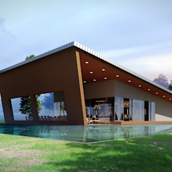 O.S. Çalışma Ofisi Modern Evler CO Mimarlık Dekorasyon İnşaat ve Dış Tic. Ltd. Şti. Modern