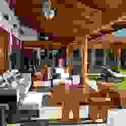 terraza Taller Luis Esquinca Balcones y terrazas modernos