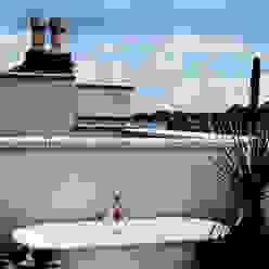 Hillside Houses, Montpelier Varandas, marquises e terraços modernos por Emmett Russell Architects Moderno