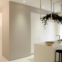 Private House Renovation Area-17 Architecture & Interiors Кухня