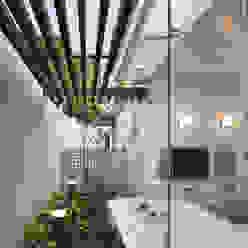 Modern spa by 株式会社 U建築研究所 Modern