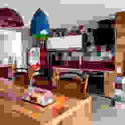 Jd. Marajoara Tikkanen arquitetura Cozinhas rústicas
