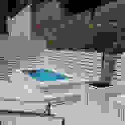 Varandas, alpendres e terraços mediterrâneo por Vicente Galve Studio Mediterrâneo