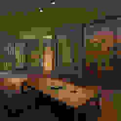 西三国の家 House in Nishimikuni arbol モダンデザインの リビング